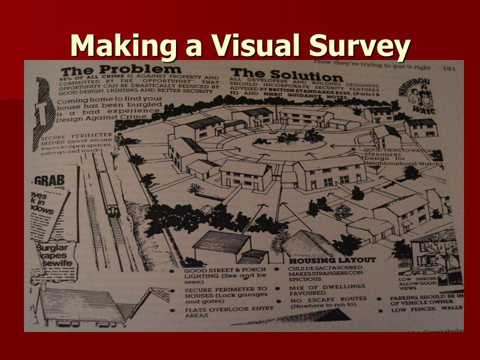 Making a Visual Survey