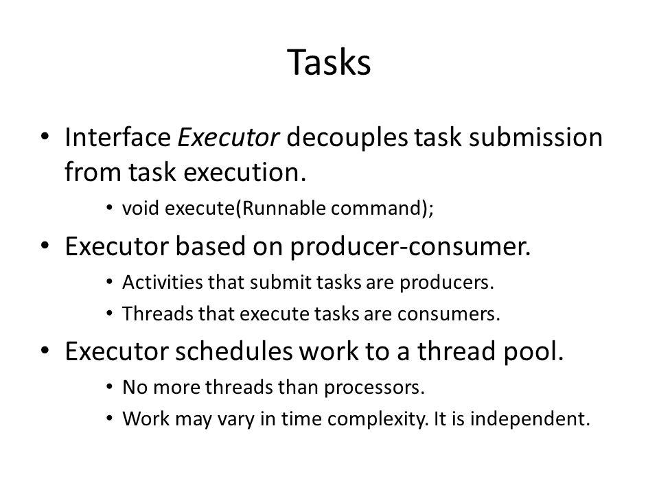 Executor Interfaces, Classes