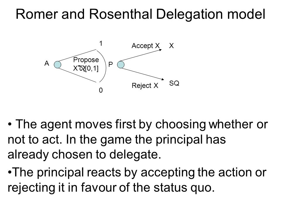 Ex ante mechanisms: Selection When an agent chooses an action that reveals to the principal a previously hidden personal characteristic.