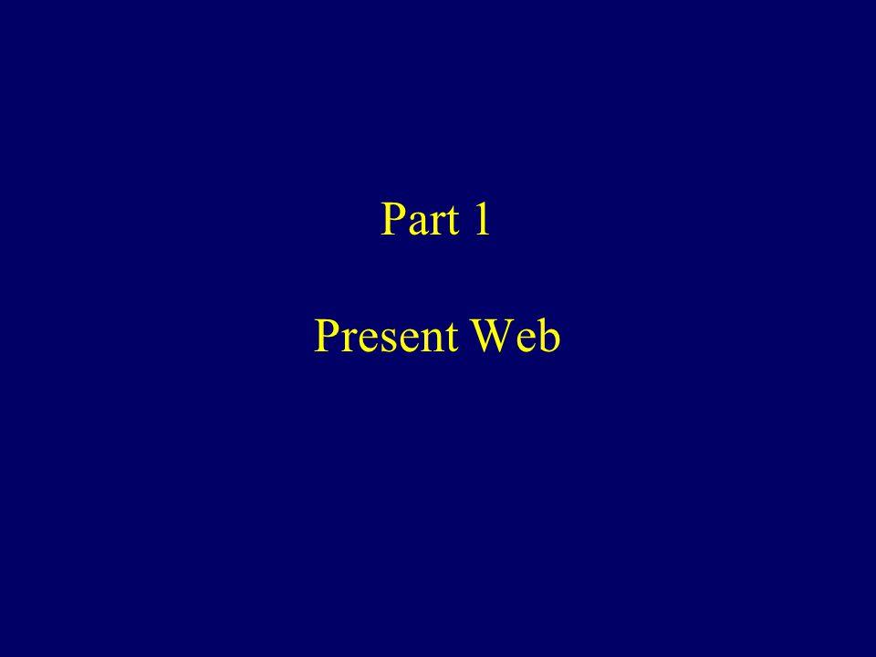 Part 1 Present Web