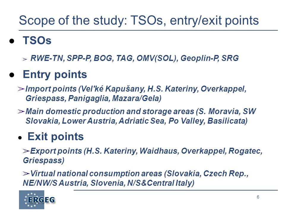 7 Scope of the study: a stylised regional system PANIGAGLIA ADRIATIC FIELDS SOUTHERN ITALY MAZARA DEL VALLO/GELA GRIESPASS NORTHERN ITALY SOUTHERN & CENTRAL ITALY 313 186 SK 26 33 HORA S.