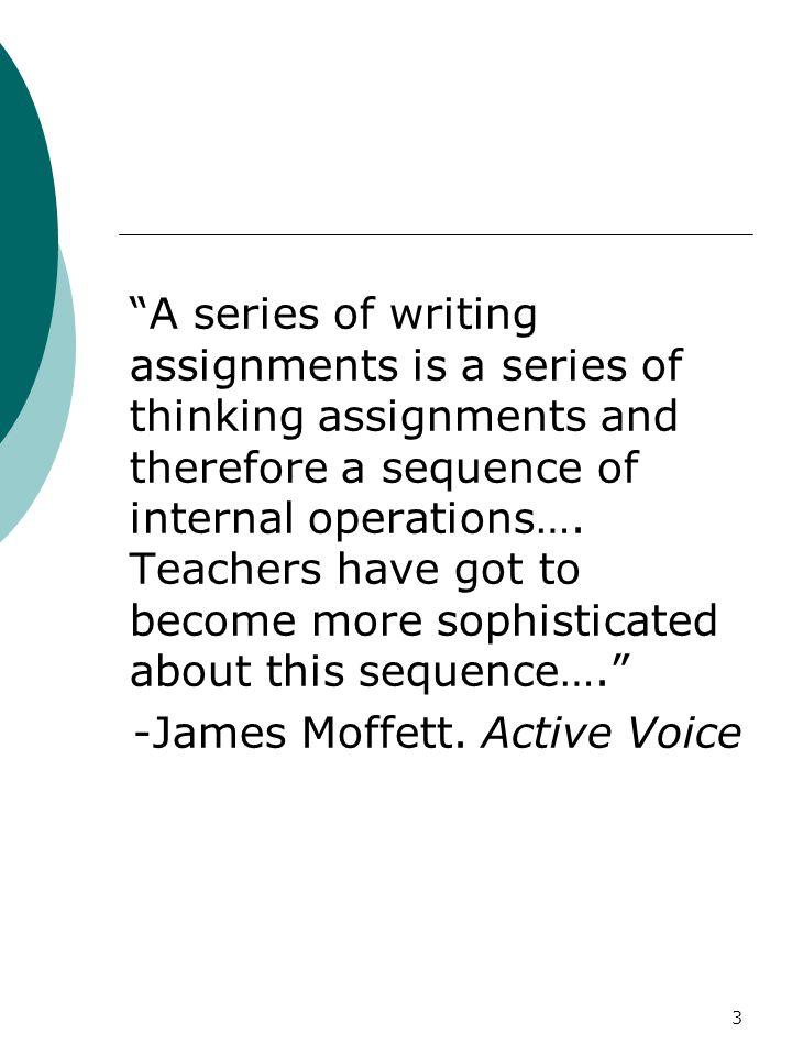 4 James Moffett I, You, It