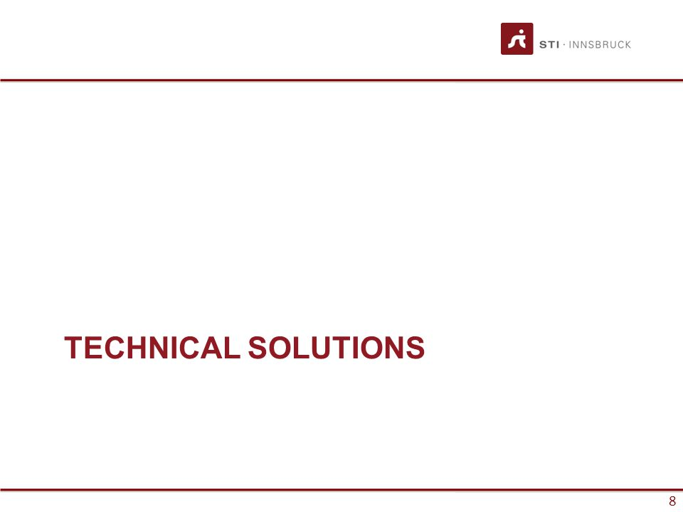 8 TECHNICAL SOLUTIONS 8
