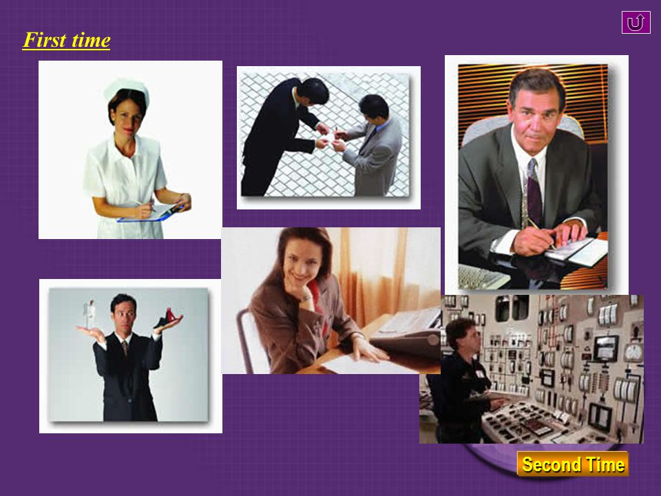 Let ' s listen. Listen to the following passage, and identify which jobs are mentioned in it.