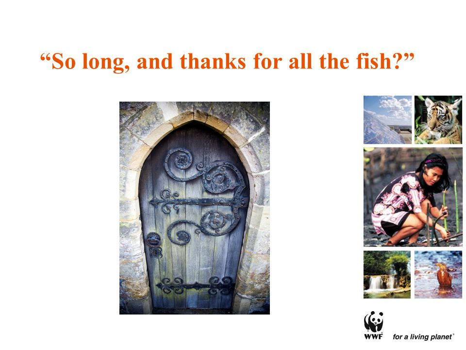 So long, and thanks for all the fish?