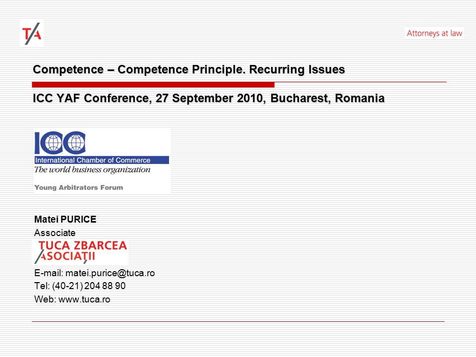 Competence – Competence Principle.