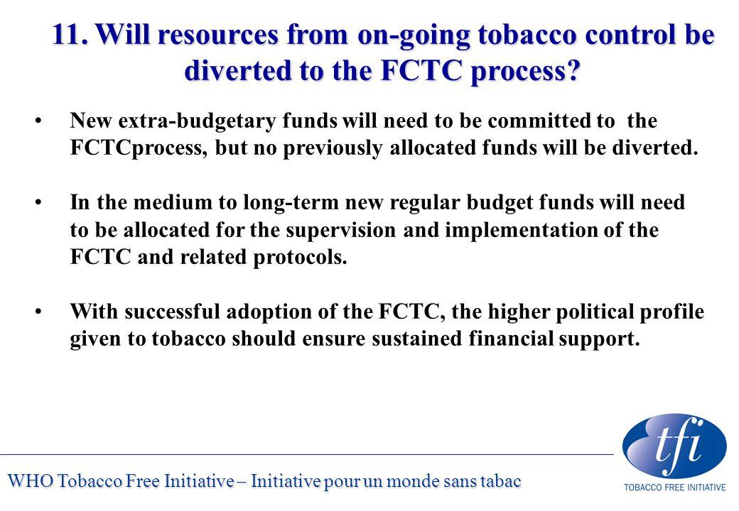 WHO Tobacco Free Initiative – Initiative pour un monde sans tabac 11.