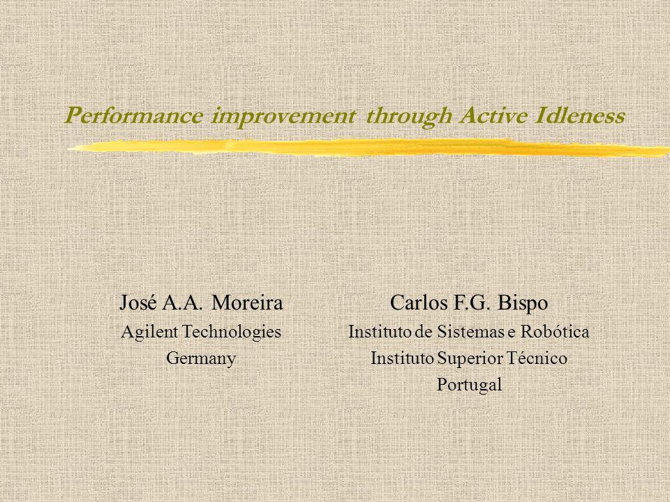 Performance improvement through Active Idleness José A.A.