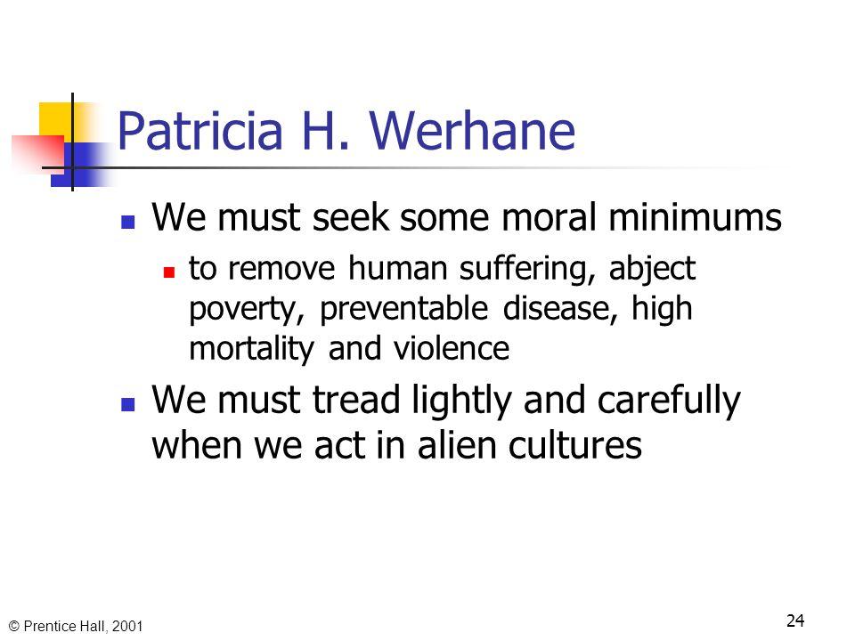 © Prentice Hall, 2001 23 Patricia H.