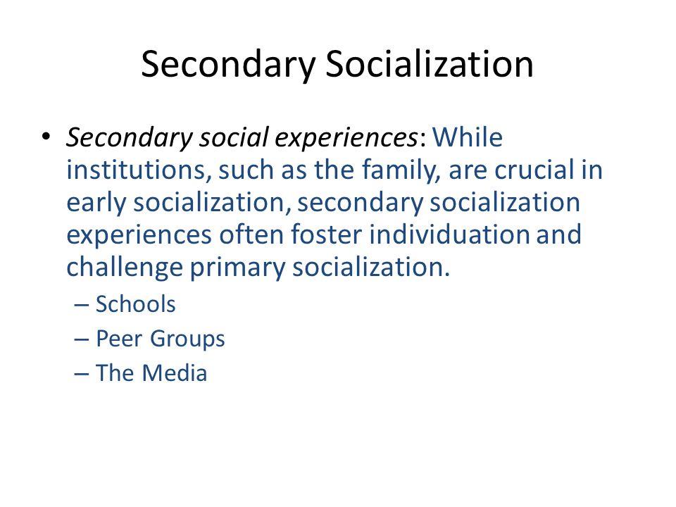 socialization primary socialization Powerpoint presentation: types of socialization primary socialization the first socialization and individual undergoes in childhood.