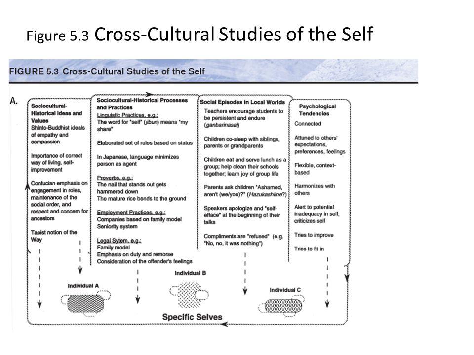 Figure 5.3 Cross-Cultural Studies of the Self