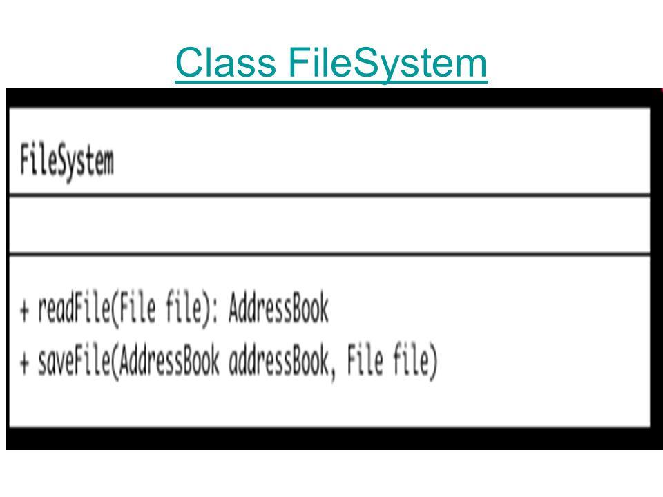 Class FileSystem