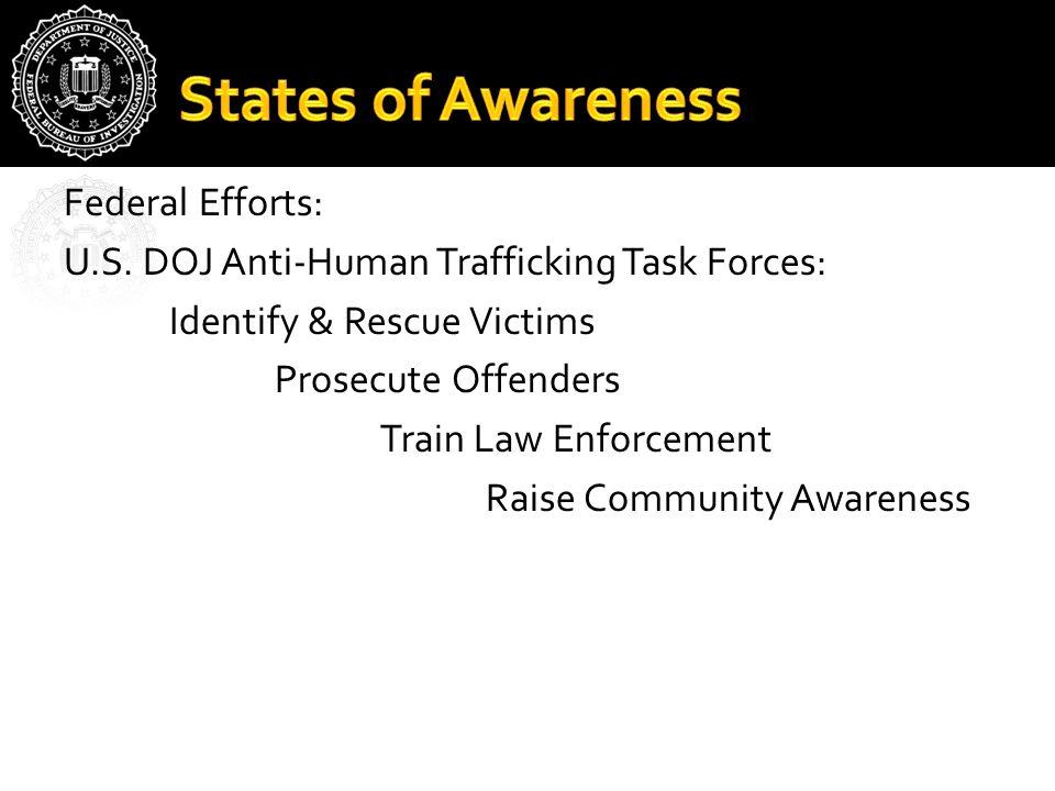 Federal Efforts: U.S.