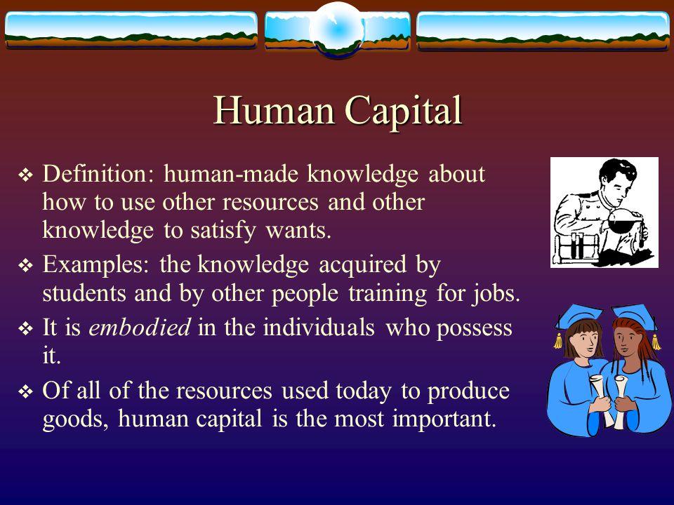 Is Land a Capital Good.