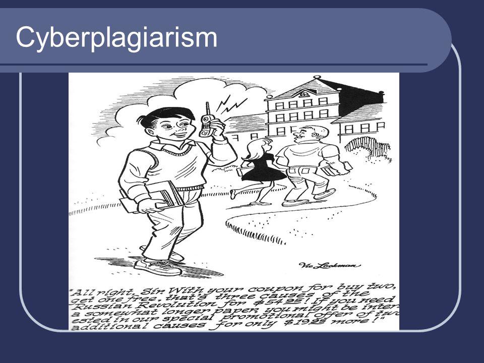 Cyberplagiarism