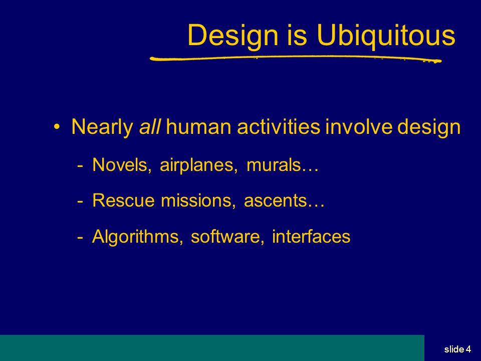 Student Name Server Utah School of Computing slide 14 Design Intent Why did the designer do this.