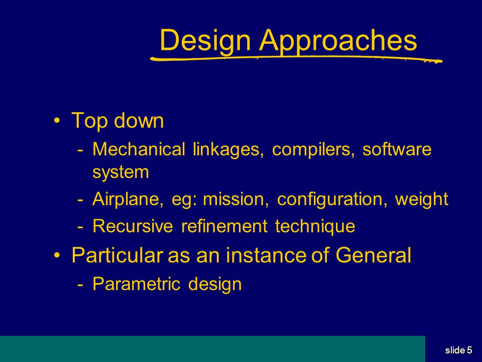 Student Name Server Utah School of Computing slide 15 Design History Better at design than documentation Not sensitive to capturing the past Important for the future of a product Need better tools Record the history as well as final result!