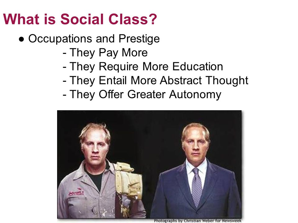 What is Social Class. © 2012 Pearson Education, Inc.