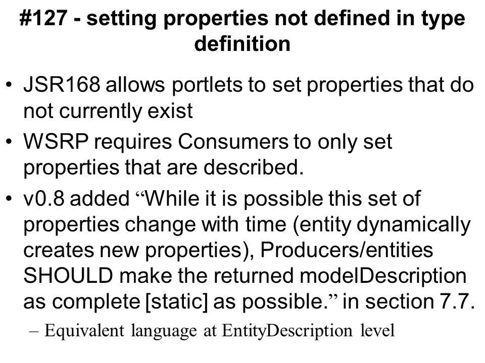 #120 - PropertiesDescription not in entityDescription, why.