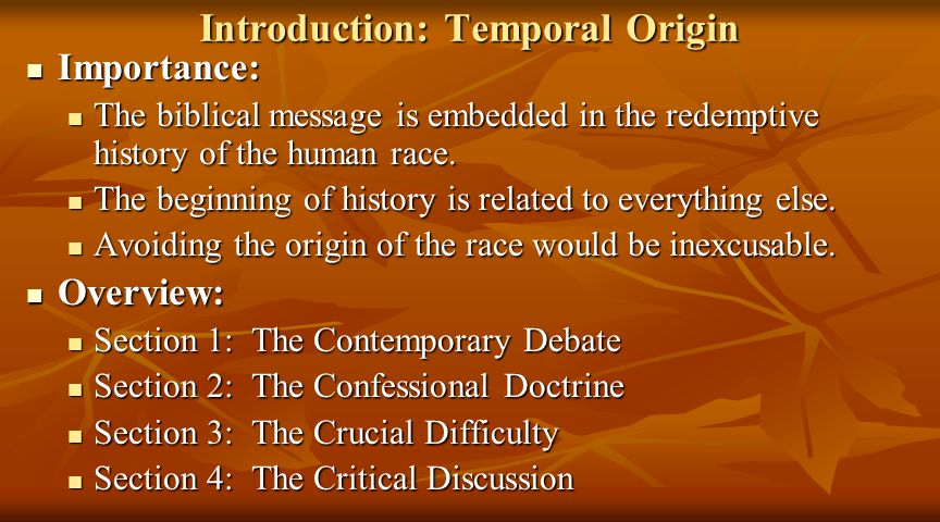 Section 1: The Contemporary Debate Four positions compete for the allegiance of evangelicals today.