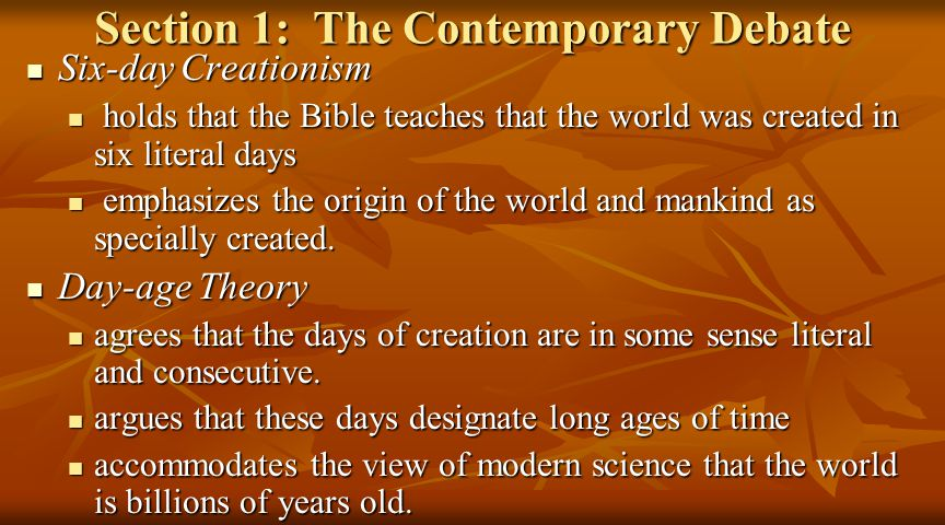 I.Theistic Evolution 2.Genesis 1-11 as Packing Material 2.Genesis 1-11 as Packing Material b.Contrary to the Use of Gen 1-11 by Scripture b.Contrary to the Use of Gen 1-11 by Scripture The packing material says the week of Gen.