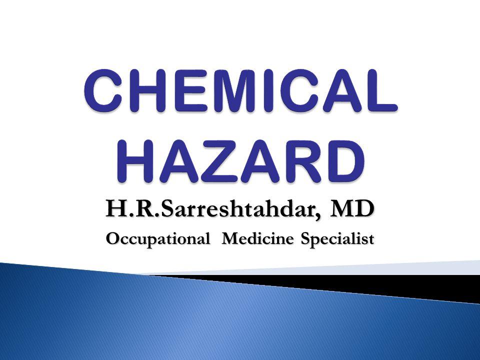H.R.Sarreshtahdar, MD Occupational Medicine Specialist
