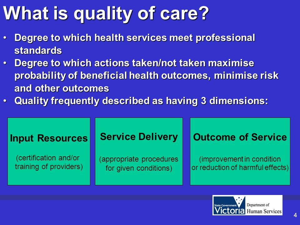5 Assuring System Performance & Quality Importance of system performance & quality in the health sector is intensifying Performance needs to be compared against other health systems & variation analysed Policy makers need to defend against alternatives