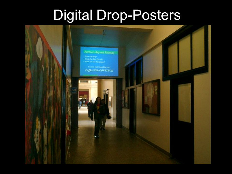 Digital Drop-Posters