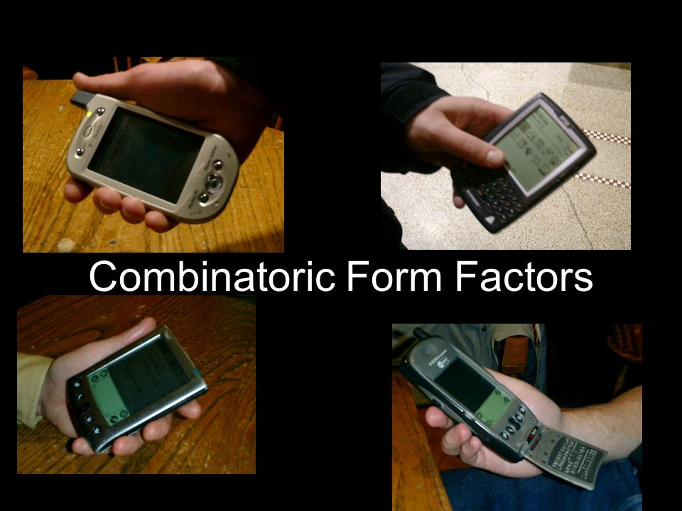 Combinatoric Form Factors