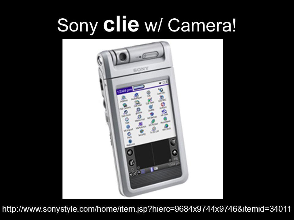 Sony clie w/ Camera! http://www.sonystyle.com/home/item.jsp?hierc=9684x9744x9746&itemid=34011
