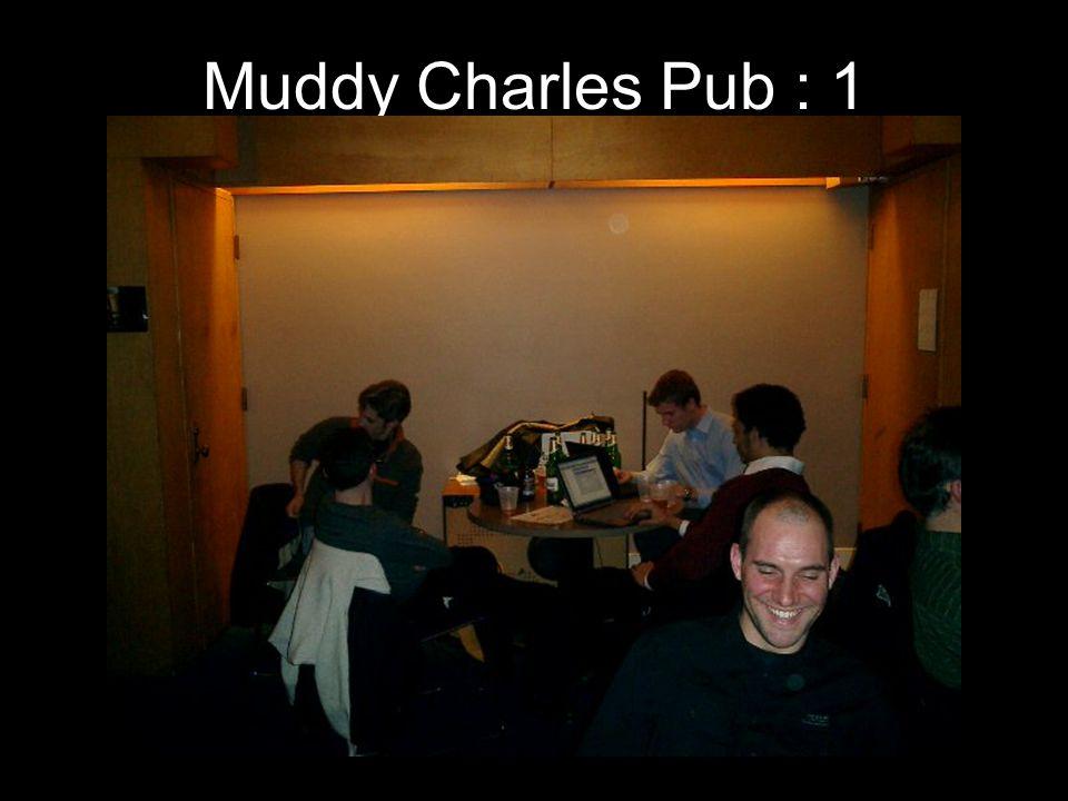 Muddy Charles Pub : 1