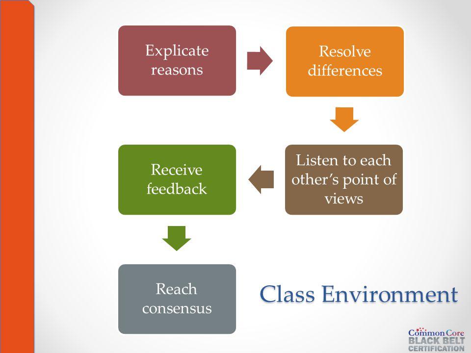 Class Environment