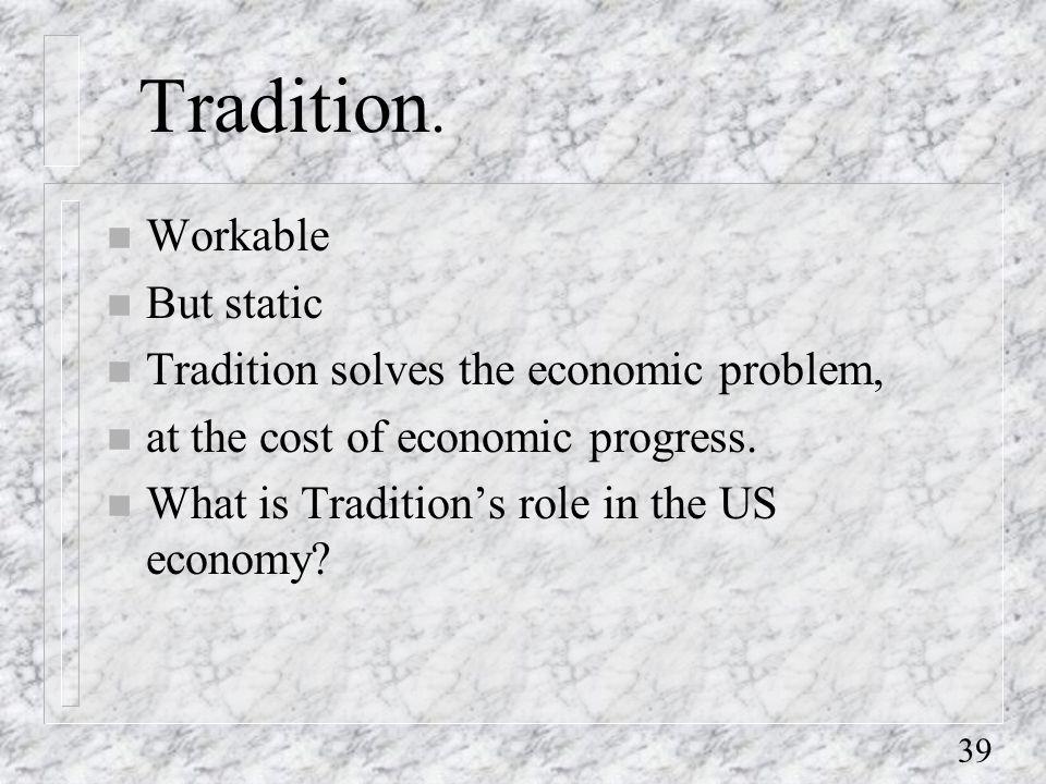 39 Tradition.