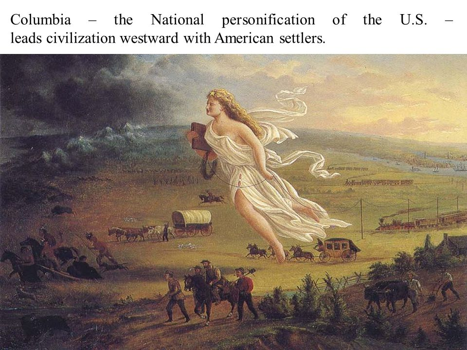Columbia – the National personification of the U.S.