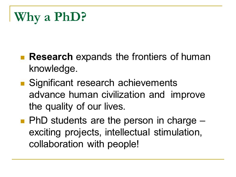 Is a PhD for you.You want to do research.