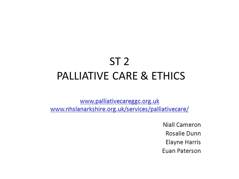 Palliative Care and Ethics 09:00 Diagnosing dying / Anticipatory Care Planning 10:15Do Not Attempt Cardio-Pulmonary Resuscitation – key issues & approach 11:00Coffee / Tea 11:15End of Life Ethics 12:30 Dining with death.