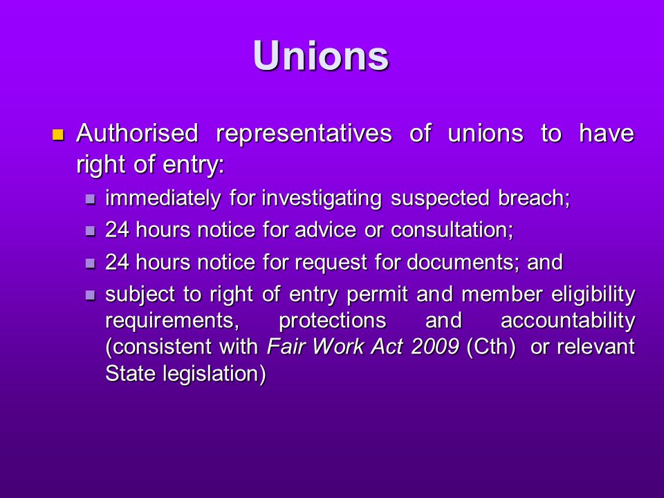 … unions no power to prosecute under model laws; no power to prosecute under model laws; unions may, as others currently in some jurisdictions, seek a review (by DPP) of a decision by the regulator not to prosecute or alternatively, by an inspector not to issue a notice; and unions may, as others currently in some jurisdictions, seek a review (by DPP) of a decision by the regulator not to prosecute or alternatively, by an inspector not to issue a notice; and unions may become involved in issue resolution process, at the request of worker unions may become involved in issue resolution process, at the request of worker
