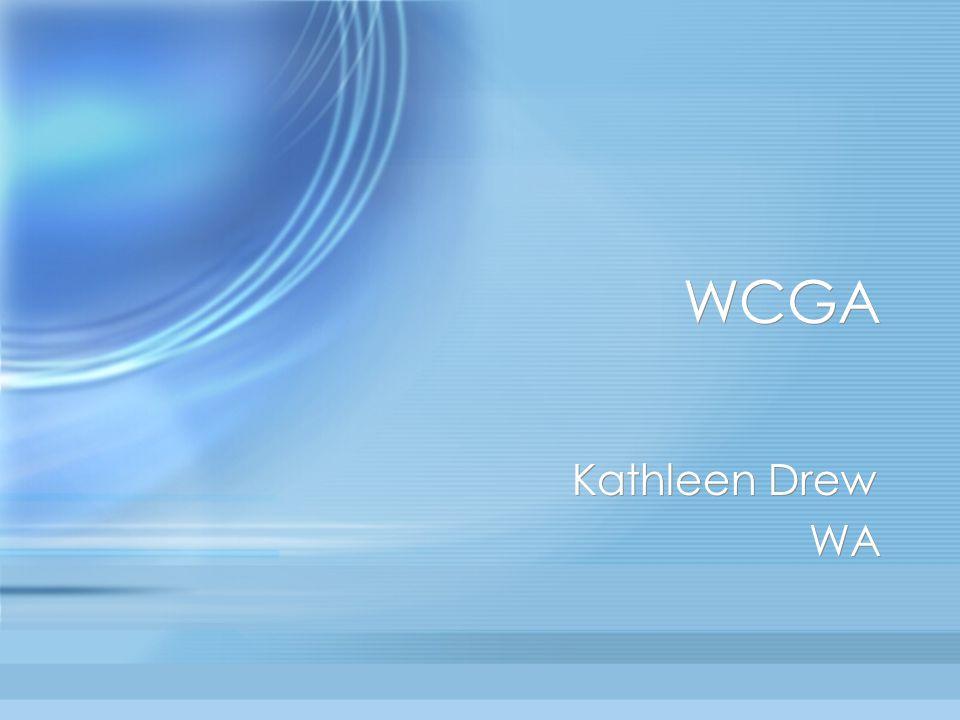 WCGA Kathleen Drew WA Kathleen Drew WA