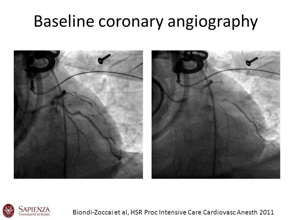 Baseline coronary angiography Biondi-Zoccai et al, HSR Proc Intensive Care Cardiovasc Anesth 2011