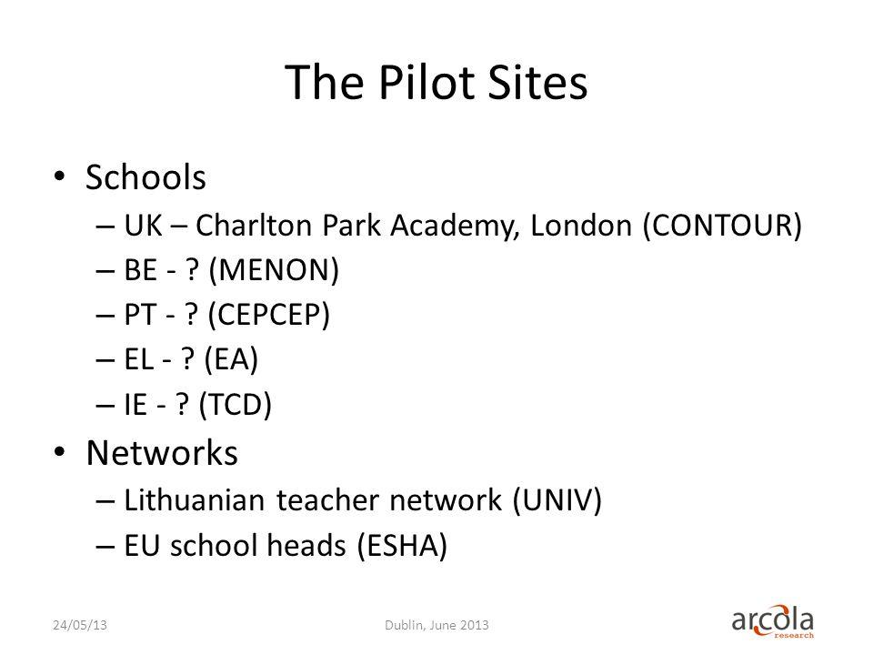 The Pilot Sites Schools – UK – Charlton Park Academy, London (CONTOUR) – BE - .