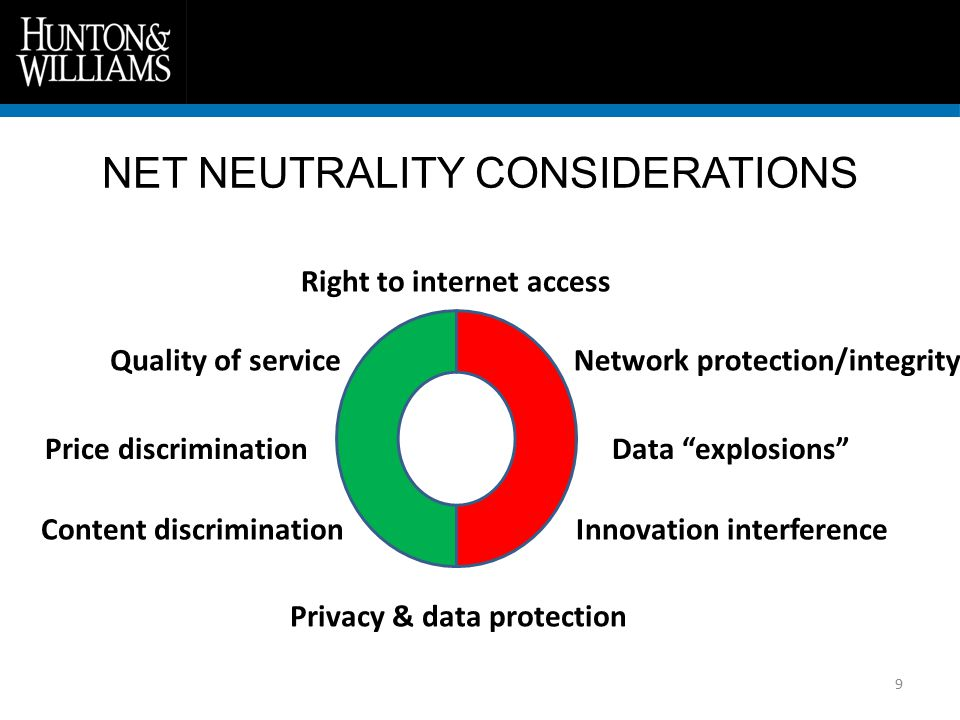 NET NEUTRALITY AND EU PRIVACY / DATA PROTECTION 10 How do EU rules on privacy and data protection apply.