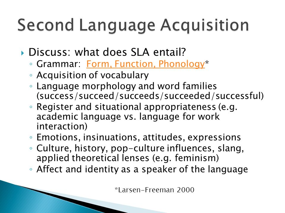  Discuss: what does SLA entail.