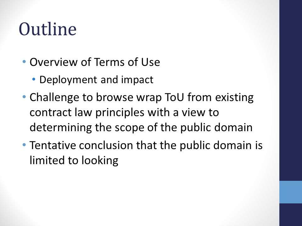 Impact of Absence of Copyright Protection Ryanair v Vivacances (Opodo) 2012.