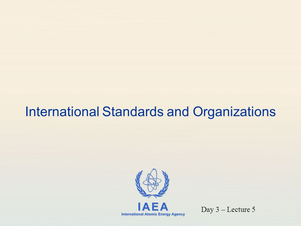 IAEA 12 ICRP 103 Recommendations (cont) Situa tion- based approach applying fundamental principles to all controllable exposure situations: three exposure situations: Planned exposure situation Emergency exposure situation Existing exposure situation
