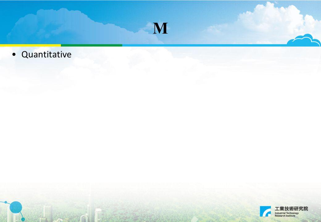 M Quantitative