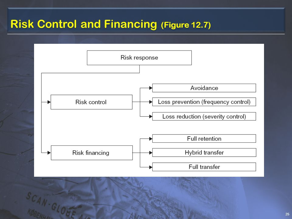 Risk Control and Financing (Figure 12.7) 25