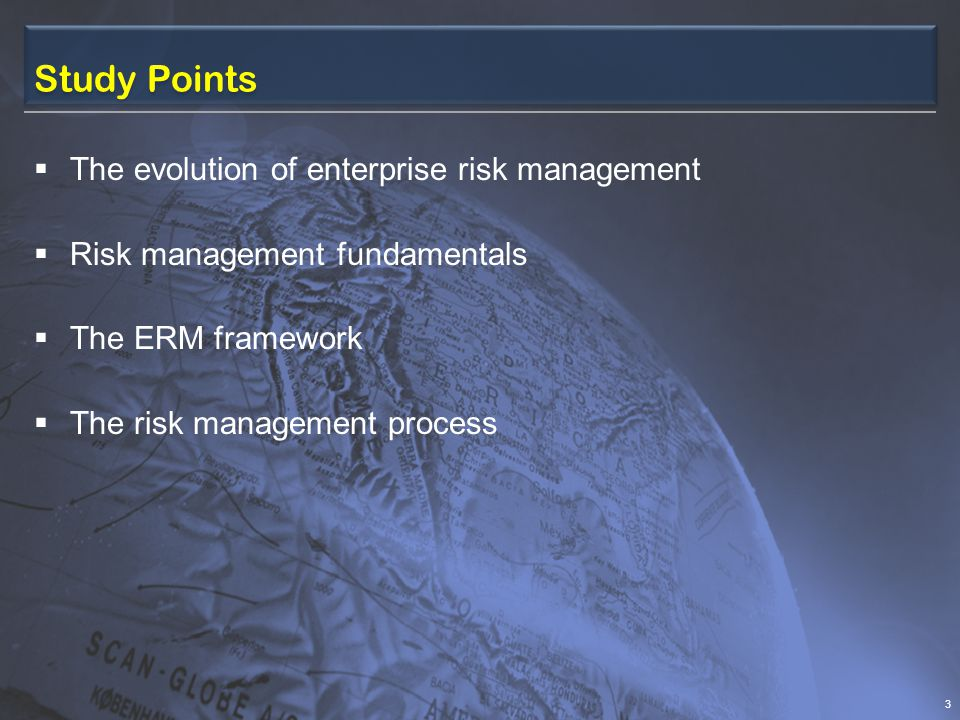 Environmental Analysis – Internal  Operational risks Earnings can be affected by a host of risks.