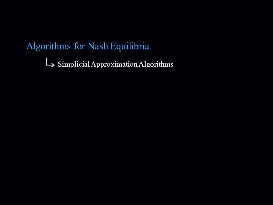Algorithms for Nash Equilibria Simplicial Approximation Algorithms
