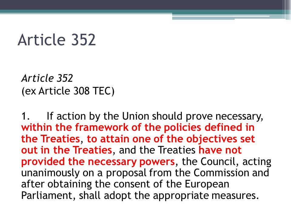 Subsidiarity Article 5 1.