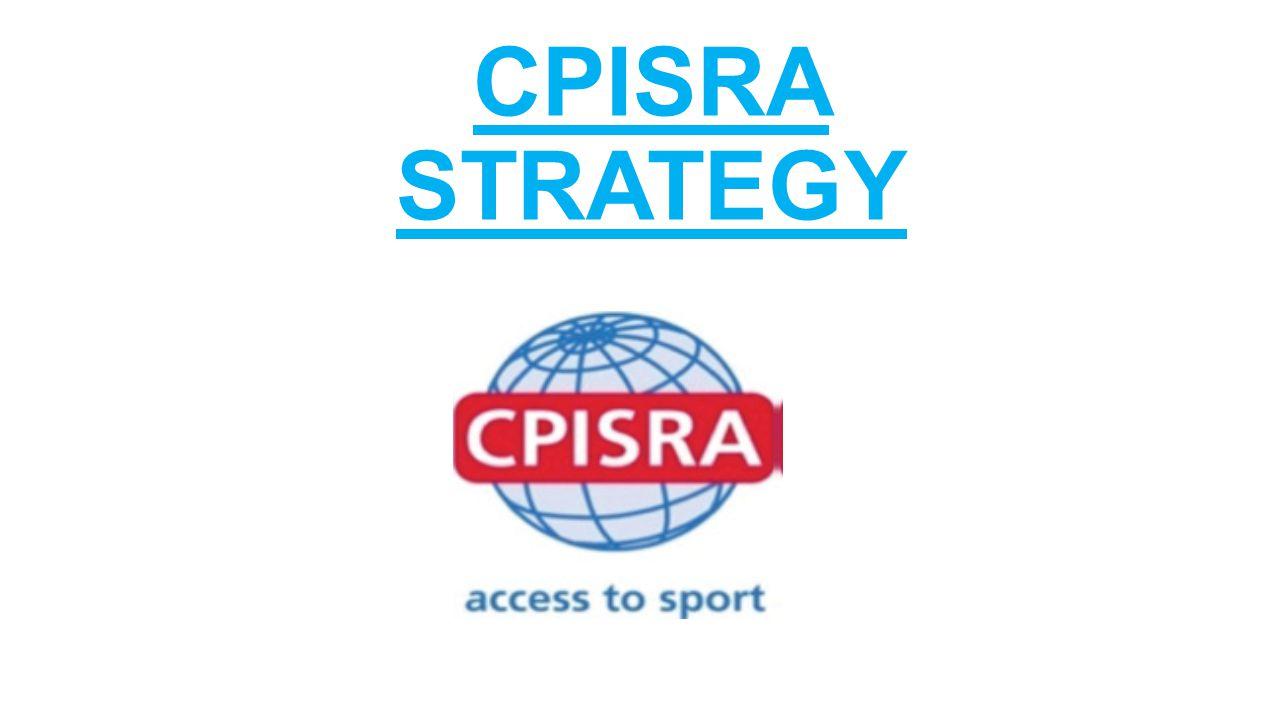 CPISRA STRATEGY